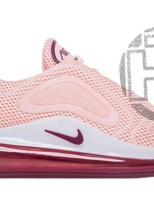Женские кроссовки nike air max 720 pink red ao2924-063