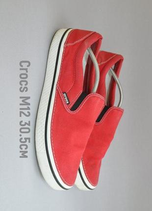 Мокасины crocs 30,5см