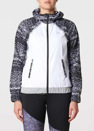Куртка ветровка kalenji decathlon для спорта с рефлективными вставками
