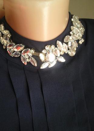 Dishe новая стильная турецкая блуза с камнями