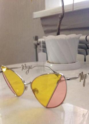 Эксклюзивные, оригинальные солнцезащитные очки