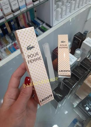 Пробники / духи / парфюм / парфуми жіночі lacoste !!