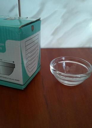 Набір соусниць uniglass stackable bowls (соусницы)