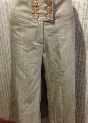 Sticky fingers брюки бриджи кюлоты бежевые
