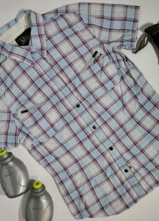 Женская спортивная, трекинговая рубашка peak perfomence, м