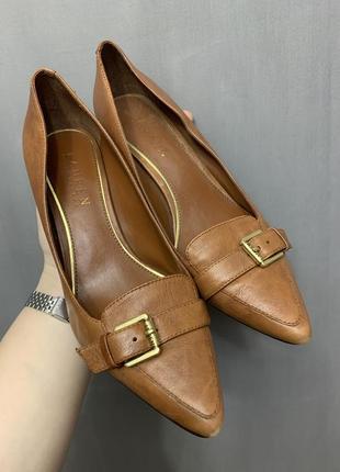 Туфли лодочки ralph lauren