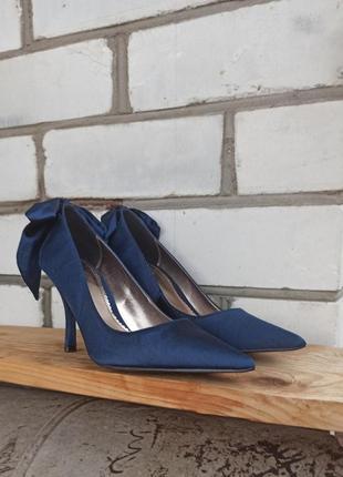 Атласные туфли лодочки sale