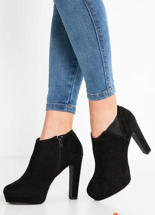 Ботильоны new look полуботинки туфли