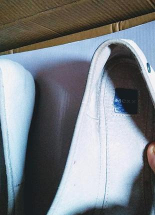 Кожаные туфли, лодочки, балетки mexx, италия3 фото