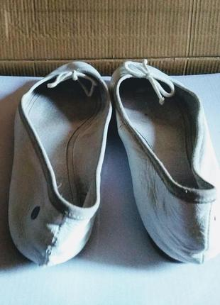 Кожаные туфли, лодочки, балетки mexx, италия5 фото