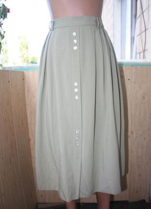 Шикарная юбка миди винтаж от бренда berkertex батал