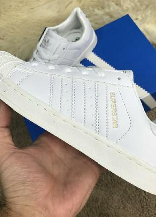 Кеды adidas superstar white