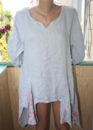 Лёгкая свободная рубашка в бохо стиле