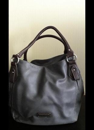 Женская сумка,известный бренд tom taylor,стильная,практичная,удобная.