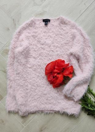 Нежный розовый свитер травка от atmosphere, размер м