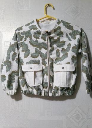Летний бомбер куртка