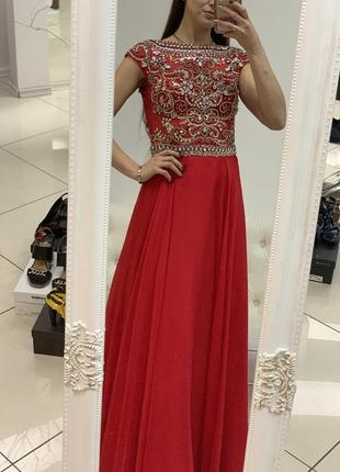 Платье sherri hill оригинал