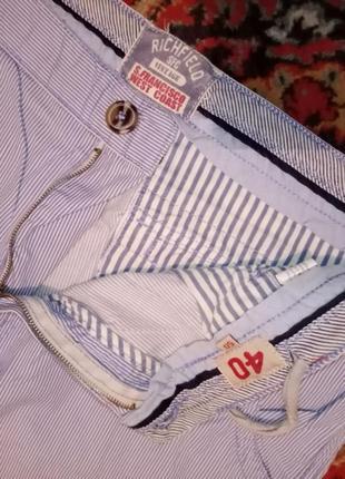 Тоненькие мужские шорты в полоску ruchfild vintage