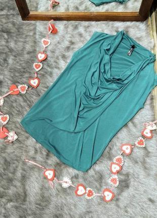 Sale топ блуза кофточка с воротником хомутом atmosphere