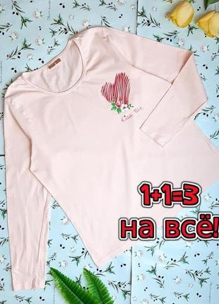 🎁1+1=3 фирменный женский розовый свитер водолазка лонгслив гольф esmara, размер 48 - 50