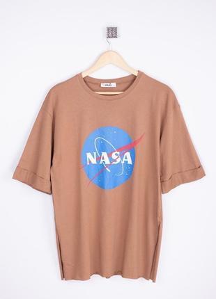 Женская футболка nasa (разных цветов)