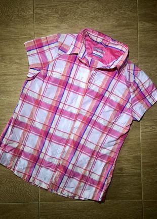 Columbia omni-shade рубашка