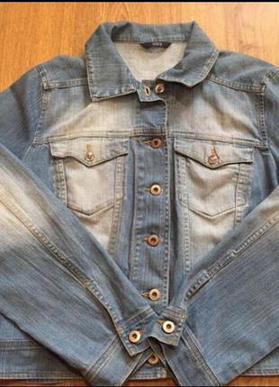 Джинсовая куртка marks&spencer per una