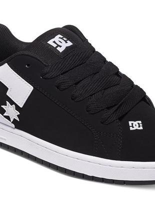 Кожаные dc shoes р. 42,5 кроссовки court graffik