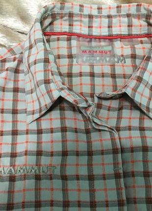 Женская треккинговая рубашка mammut торг