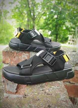 Бомбезная модель! мужские дышащие сандалии