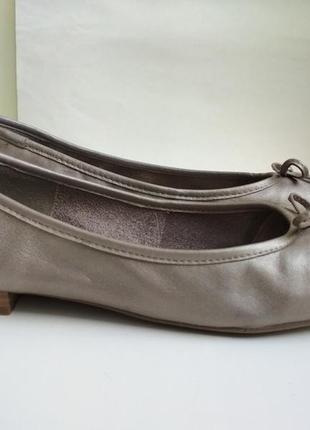 Кожаные мокасины туфли tamaris германия р.39