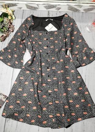Cукня, сукня-халат glamorous на гудзиках,квадратний виріз