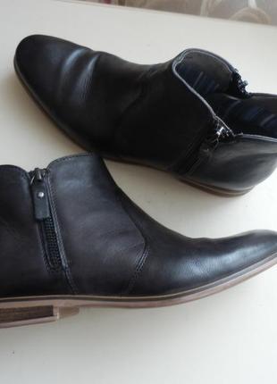 Кожаные ботинки италия 39р