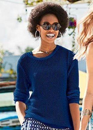 Очаровательный.красивый ажурный свитер пуловер blue motion германия