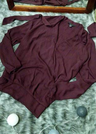 Sale свободная блуза на запах atmosphere