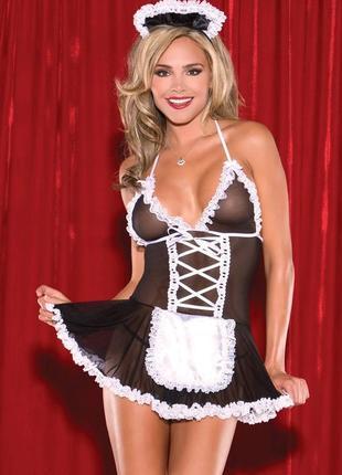 Комплект белья горничная эротическое костюм 5128