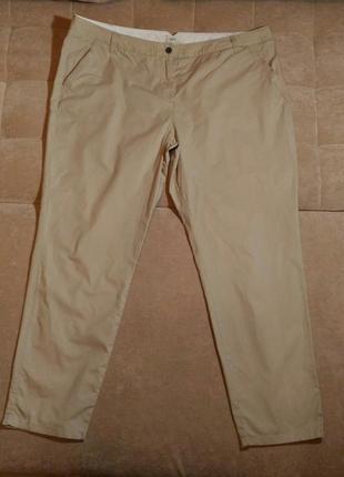 Летние лёгкие бежевые брюки next размер 22 / 4xl