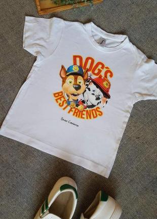 """Дитяча футболка """"щенячий патруль"""" на 4 роки"""