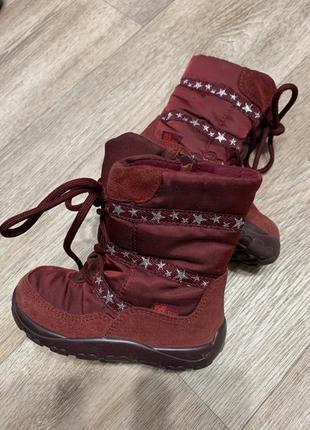 Термо ботинки на девочку elefant