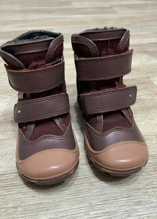 Зимние ботинки для девочки bartek