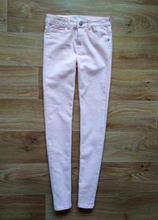 Зауженые летние джинсы