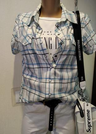 Тонкая лёгкая блузка рубашка кофта