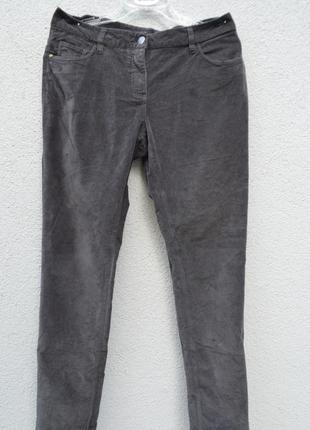 Красивые натуральные велюровые брюки