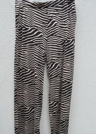 Очень шикарные легкие трикотажные вискозные брюки большого размера