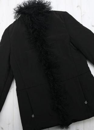 Женская куртка декорировано мехом taifun, р. s-m
