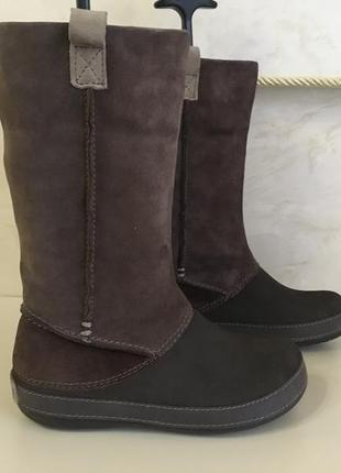 Crocs резиновые сапоги крокс. crocs women's boot кожаные сапоги crocs\ крокси