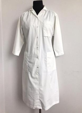 Халат белый медицинский платье 461 фото
