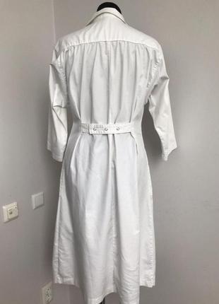 Халат белый медицинский платье 462 фото
