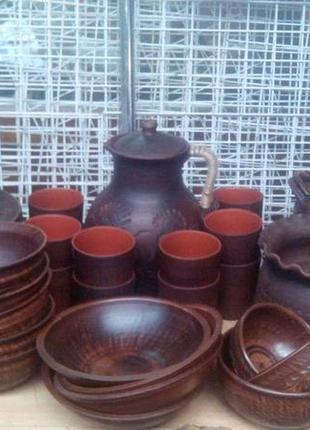 Продам глиняний набір