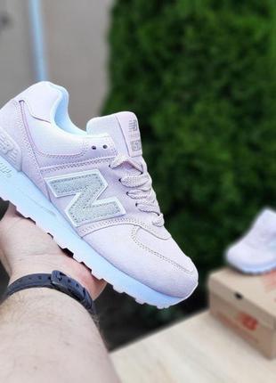 New balance 574 красивые женские кроссовки